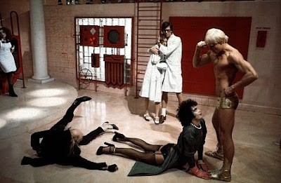Escena de The Rocky Horror Picture Show
