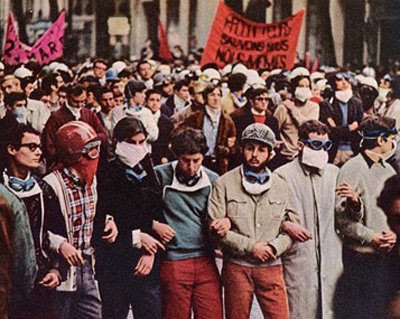 Las protestas del Mayo Francés