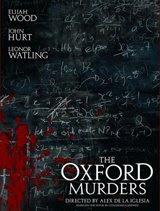 Afiche de 'Los crímenes de Oxford'