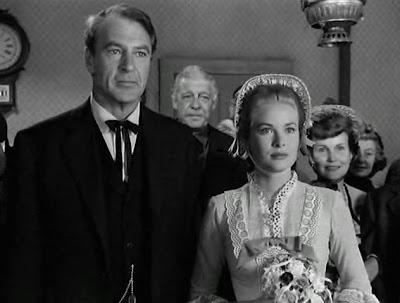 Gary Cooper y Grace Kelly en 'A la hora señalada'