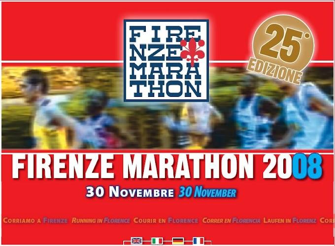 Maratona di Firenze 2008
