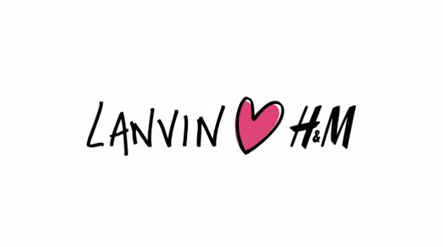 Mon joli pull bleu: Lanvin for H&M