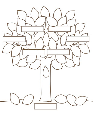 WALLPAPER DESAIN: blank family tree template printable