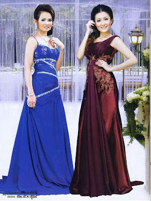 Most Of Cambodian Women Love Well Designed Dress For Joining Party Event And Wedding Ceremony During Season
