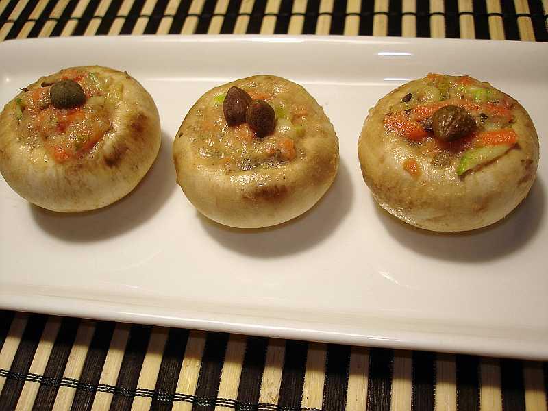 Las recetas de silvia como hacer canap s de champignon - Como hacer un canape ...