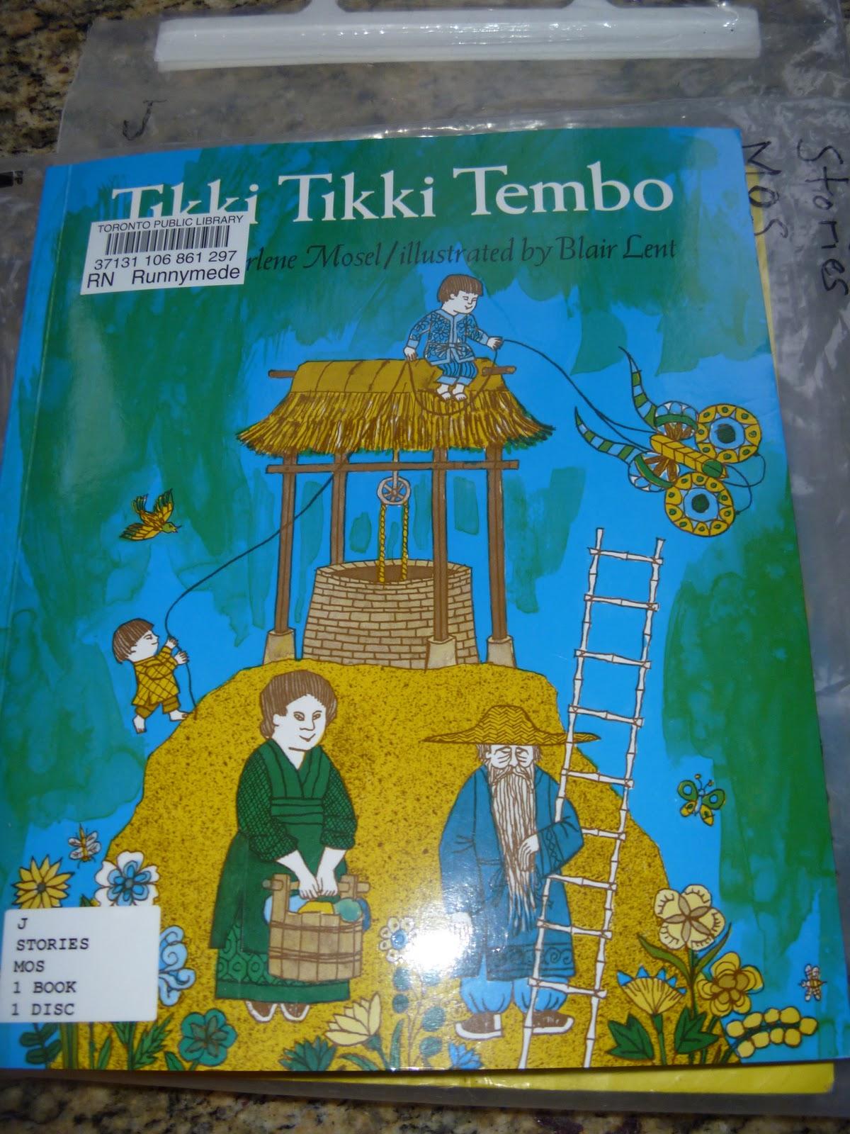 Thatsclarke Withane Tikki Tikki Tembo
