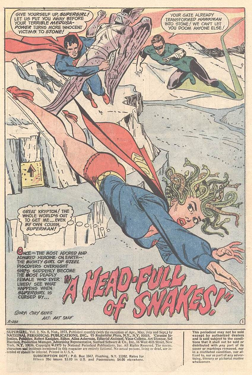 Supergirl The Maiden Of Might Supergirl V1 8 -5435