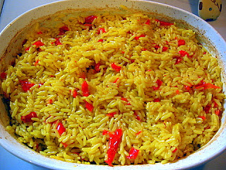 Saffron Rice Pilaf - KALOFAGAS | GREEK FOOD & BEYOND
