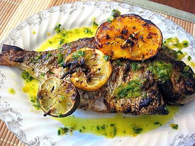 Porgy kalofagas greek food beyond for Porgy fish recipe