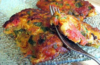 Ntomatokeftedes (Greek Tomato And Feta Fritters) Recipe ...