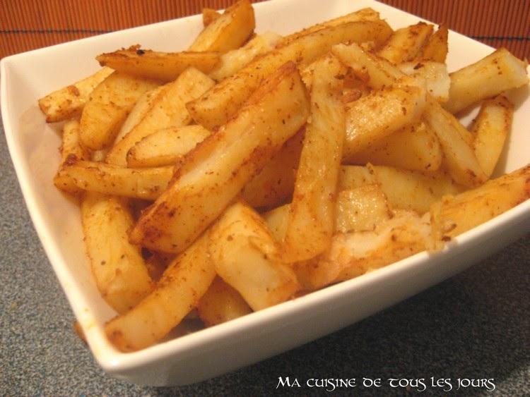 Frites au four maison - Frites pour friteuse au four ...