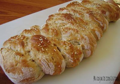 Pain tress maison recette par ma cuisine de tous les jours ptitchef - Cuisine de tous les jours recettes ...