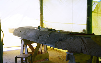 wood sculpture implementation