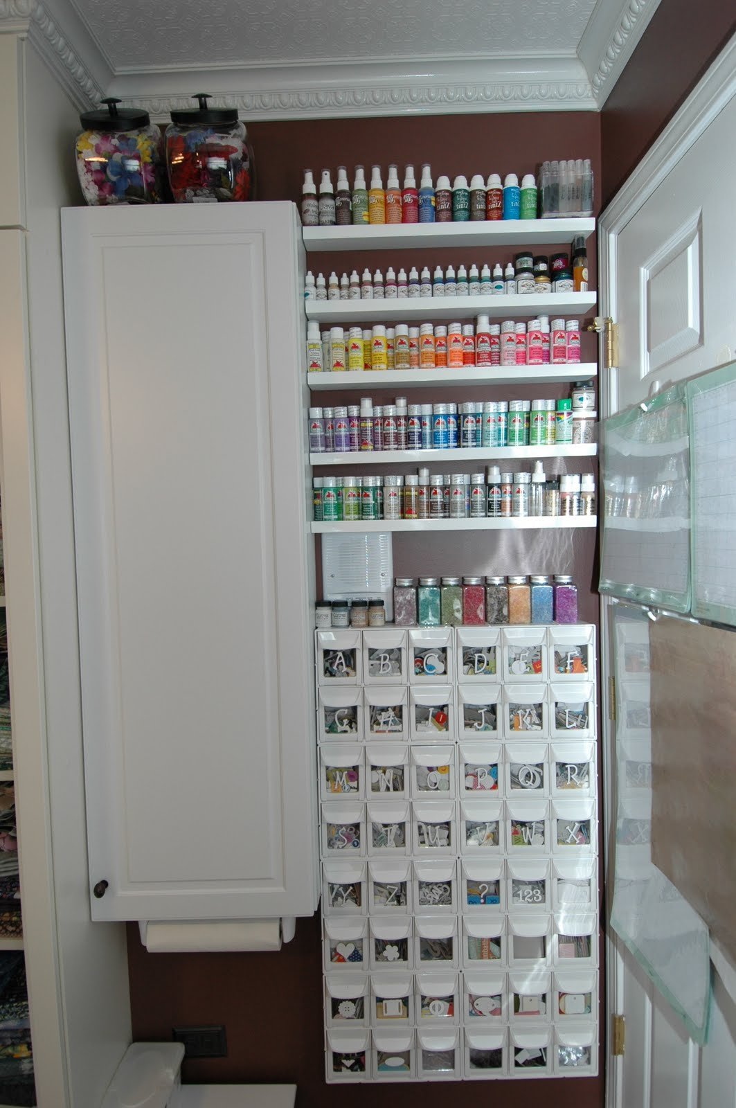 Creations By Christie: Tour My Craft Room!!!
