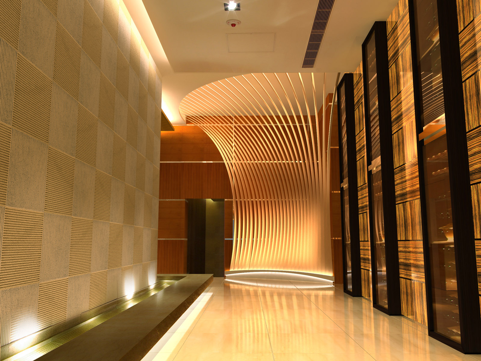 Corridor Design: Imagine These: Restaurant Interior Design