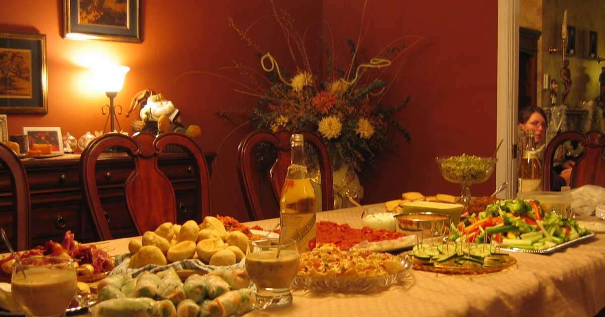 Katia au pays des merveilles buffet simple entre amis for Souper simple entre amis