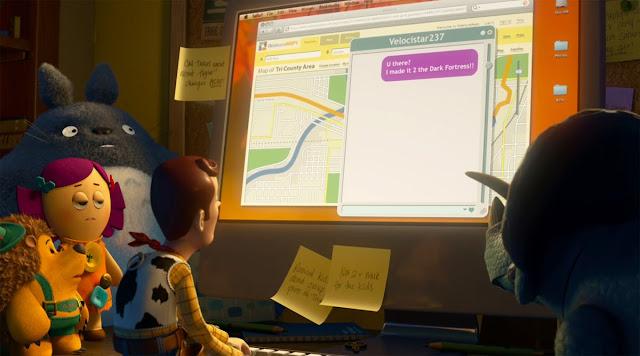 Imagen de 'Toy Story 3' con la aparición de Totoro