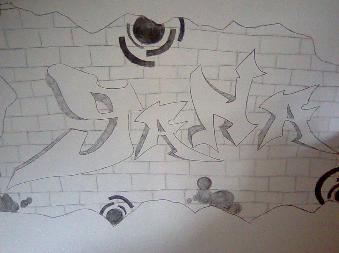 92+ Gambar 2 Dimensi Grafiti Terlihat Keren