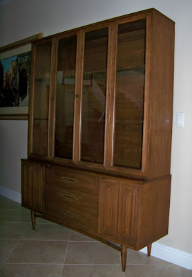 Mad For Mid Century Broyhill Sculptra China Cabinet