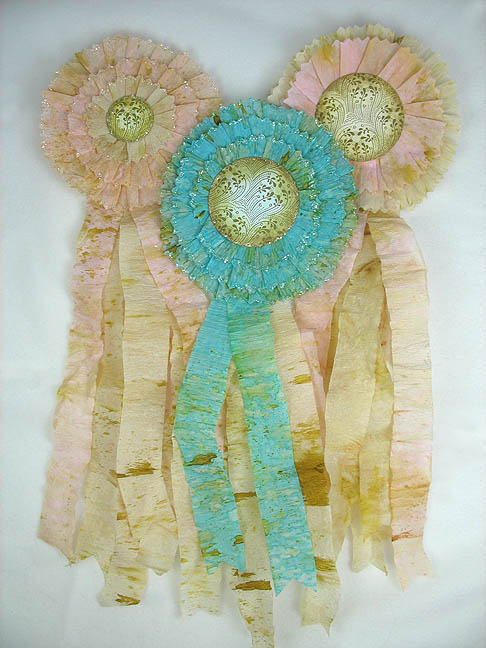 Project Tutorial How To Make A Crepe Paper Rosette Prize Ribbon