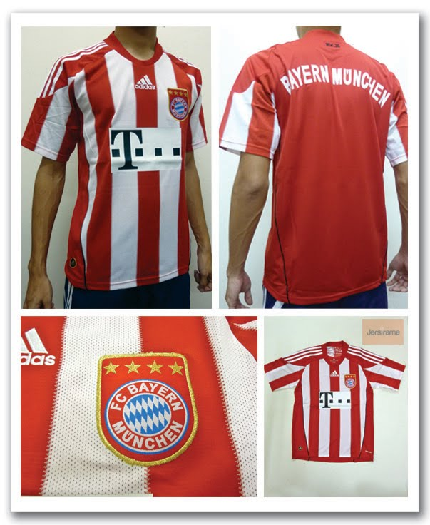 578f4d8dd Bayern Munich Home   Away Jersey (Bundes Liga Season 2010 2011)