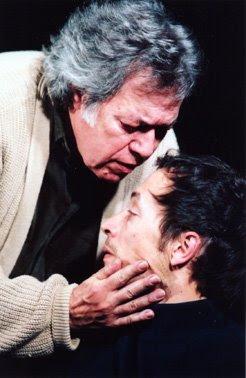 Sérgio Godinho e Pedro Lacerda in Onde Vamos Morar de Jose Maria Vieira Mendes by Jorge Silva Melo for Artistas Unidos