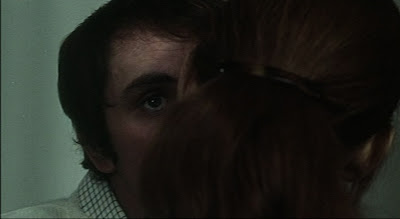 Anne Wiazemsky and Terence Stamp in Pasolini's Teorema