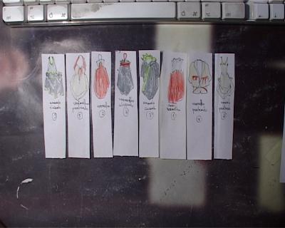 papelinhos para clip de moda by André Godinho