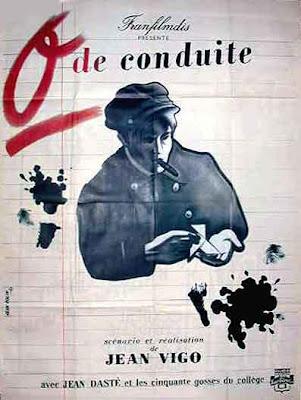 poster de Zéro de Conduite de Jean Vigo