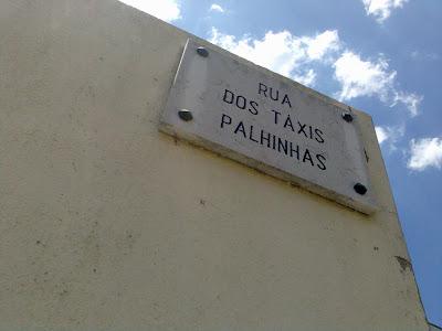 Rua dos Táxis Palhinhas