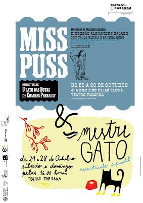 Miss Puss de Alexandre Calado, cartaz de Teresa Amaral