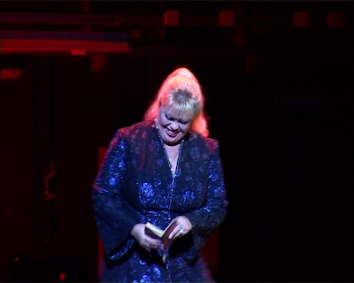 Larissa Savchenko in Turbo-Folk by Teatro Praga