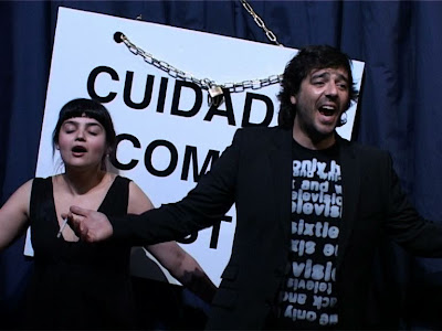Joana Gusmão e Pedro Pires in Conservatório by Teatro Praga
