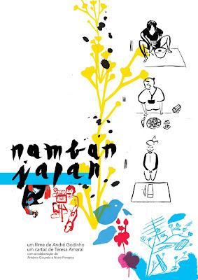 Namban Japan um cartaz de Teresa Amaral