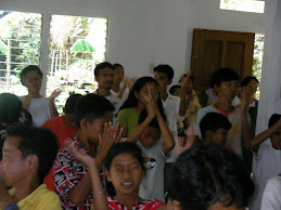 Worship at Balogo