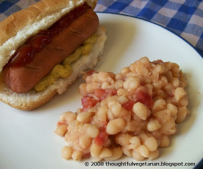 Baked beans hot dogs potatoes recipes