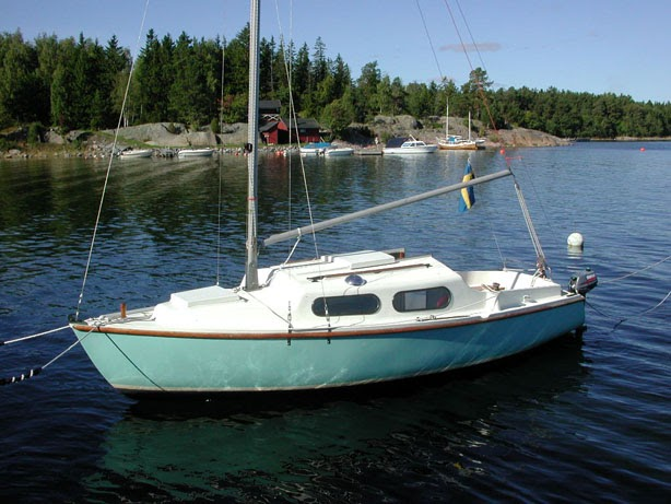 Alacrity sailboat: New content: Alacrity and Vivacity ...