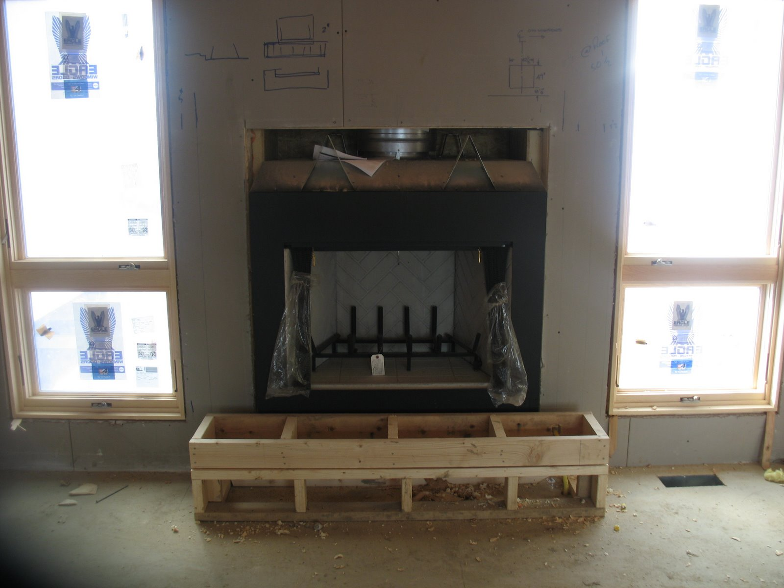 FRAME GAS FIREPLACE HOW TO  Fireplaces