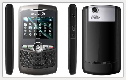 RESTART PETER: Handphone Qwerty Blueberry