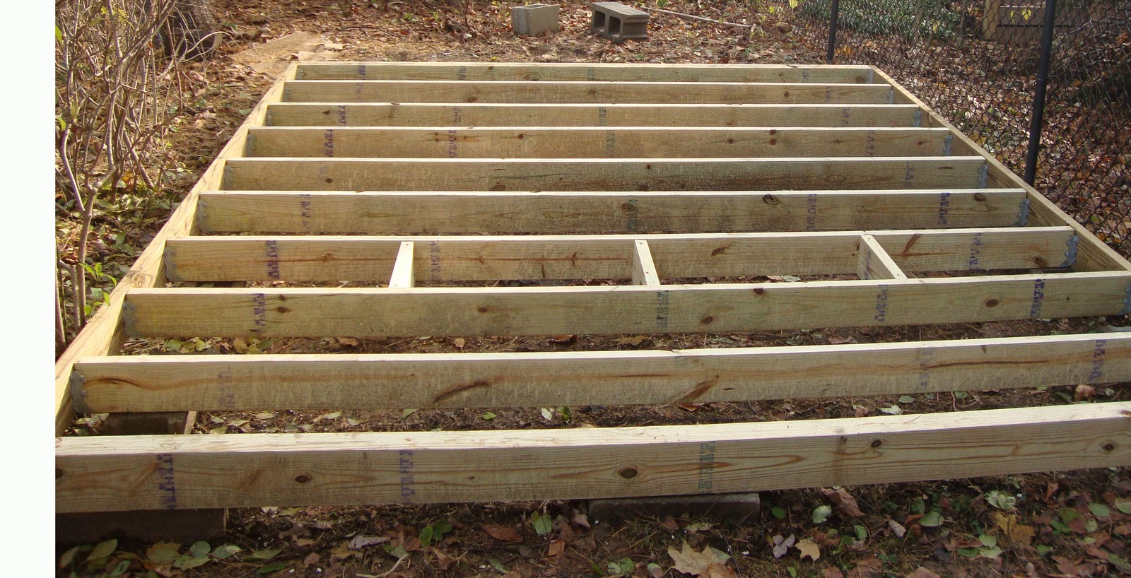 Rubber City Homestead: How to Build a Shed, Part IV ...