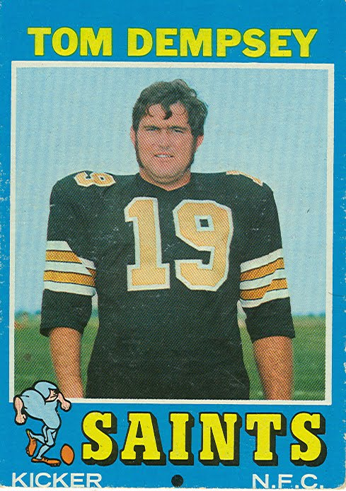 1971 Football Cards: New Orleans Saints
