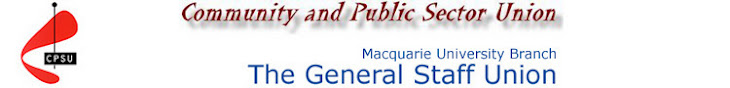Macquarie University CPSU