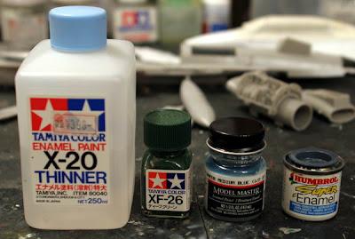Scale Plastic Model Kits Enamel Acrylic Or Lacquer Paint