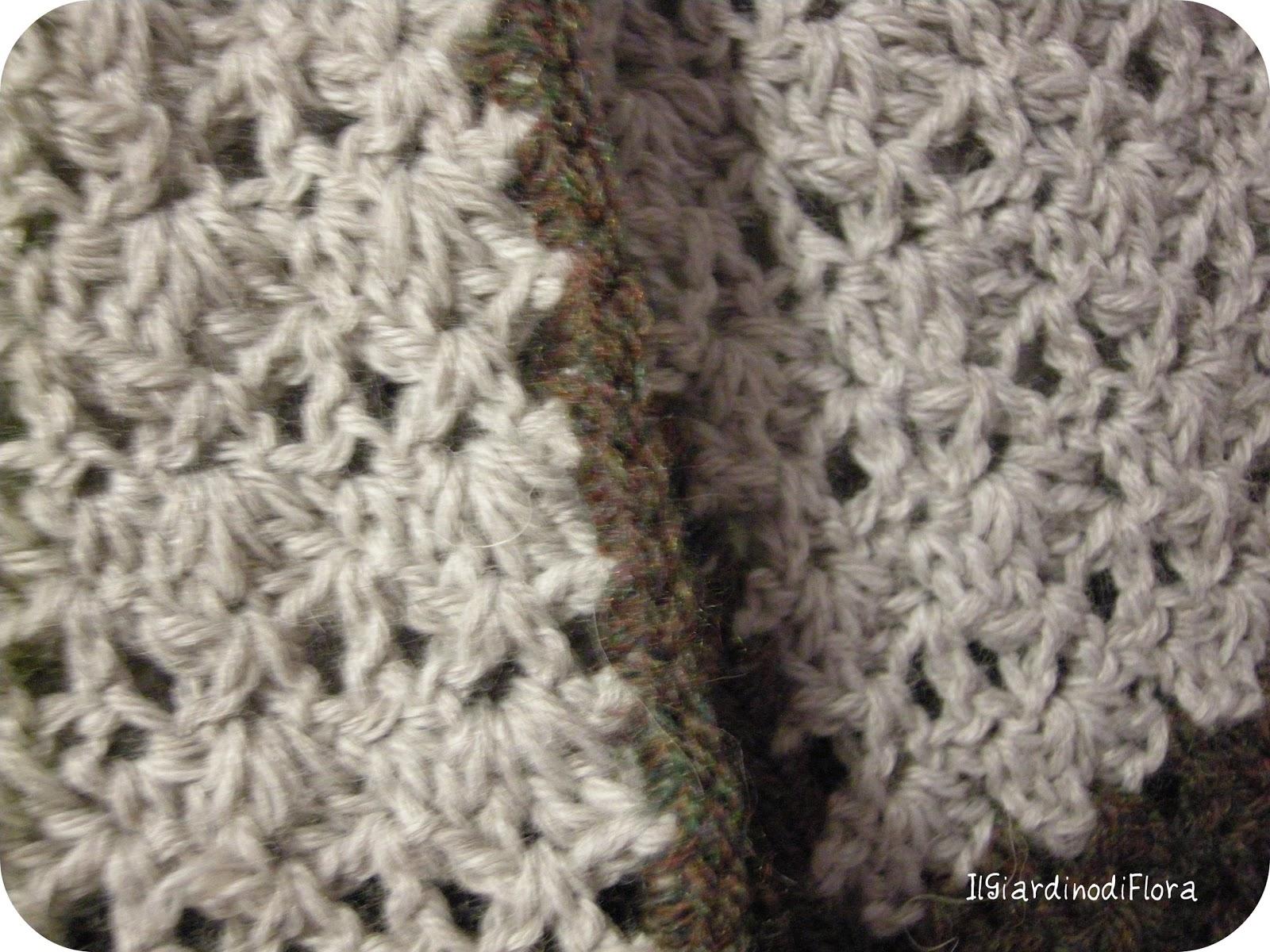 Piastrella esagonale alluncinetto tappeto all uncinetto con