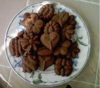 chocolate spritz cookies - photo #26