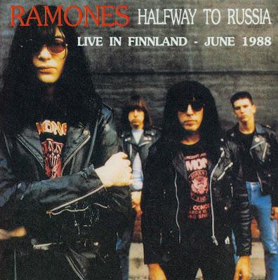 Ramones: Halfway To Russia  Seinajoki, Finland - June 4, 1988  (Ex