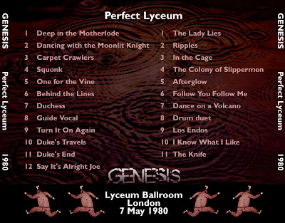 Genesis Perfect Lyceum Lyceum Ballroom London England