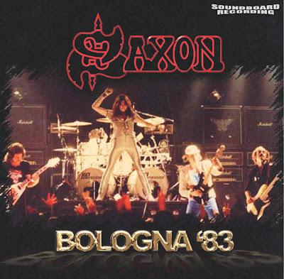 Saxon Bologna 83 Palasport Bologna Italy March 27