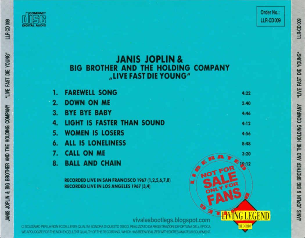 Janis Joplin: Live Fast Die Young  San Francisco + Los