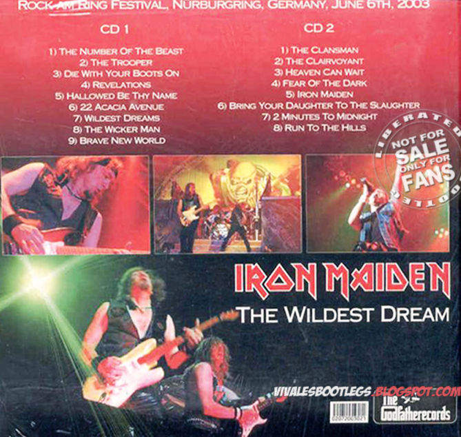 Viva Les Bootlegs: Iron Maiden: Wildest Dream  Rock Am Ring